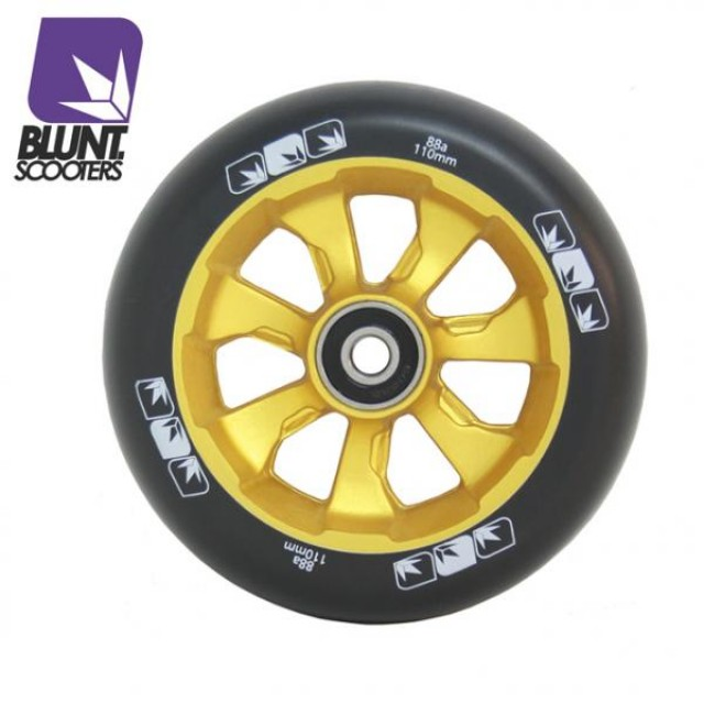 Blunt 7 Spokes 110 mm + ABEC 9 bearings Gold/Black