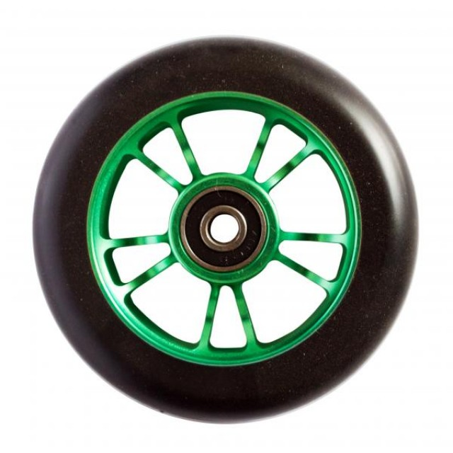Blunt 10 Spokes 100 mm Wheel Green