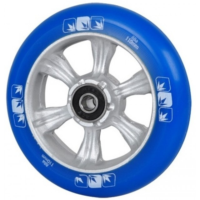 Blunt 6 Spokes 110 mm + ABEC 9 bearings Blue