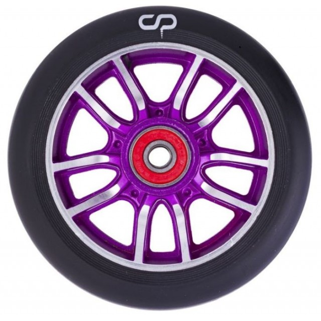 Crisp F1 Forged Wheel 110 Purple / Black