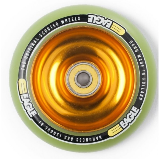 Eagle Full Core Wheel 100 Gold / Green