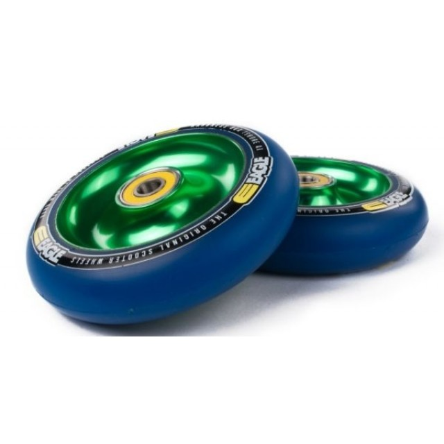 Eagle Full Core Wheel 100 Green / Blue