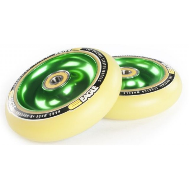 Eagle Full Core Wheel 100 Green / Yellow