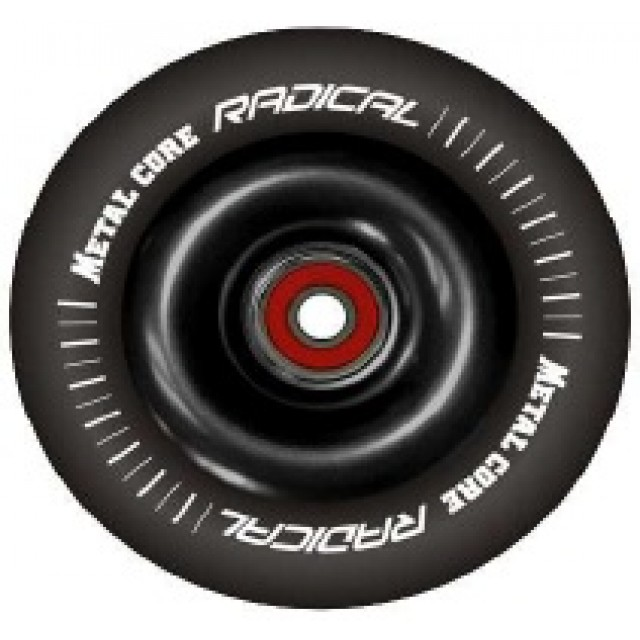 Metal Core Radical 110 mm Black/Black incl. ABEC 7 bearings