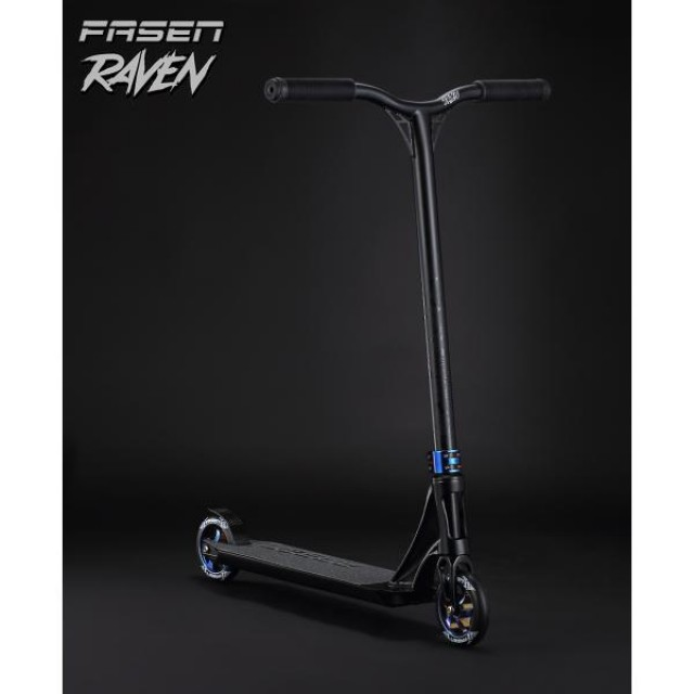 Fasen Raven Scooter Black - Freestyle koloběžka